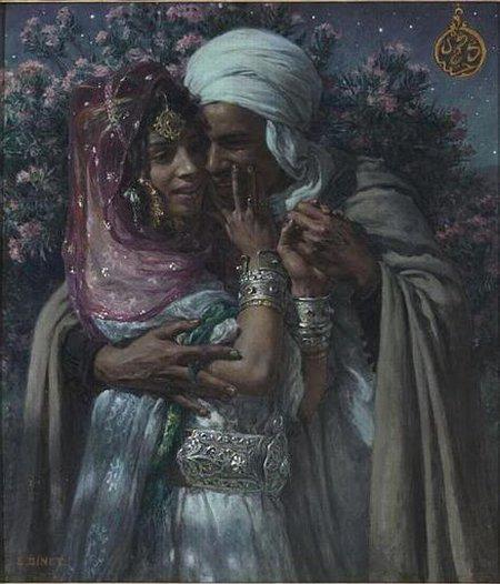 Pasangan khalifah arab