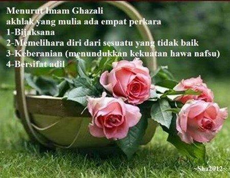 Ahlak Imam Ghozali