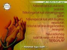 Berdoalah dan tasbih