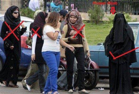 jilbab yg salah dan benar