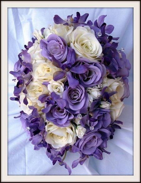 Rose ungu putih