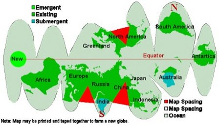Arah kutub bumi 2