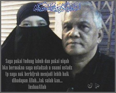 Cadar suami istri hijrah