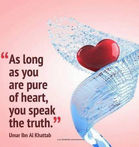 Hati berbicara kebenaran