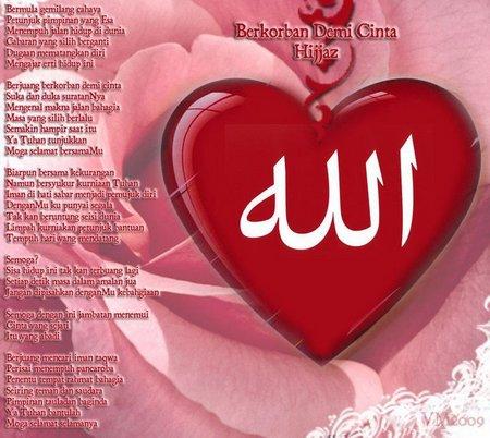 Hati berkorban demi cinta