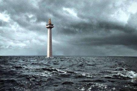 Monas banjir
