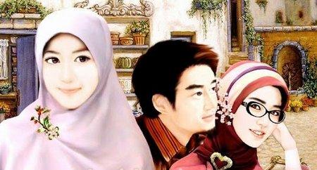 Pasangan jilbab