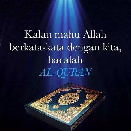 Quran berbicara dengan allah