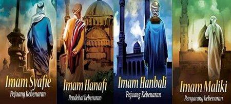 Wasiat imam 4 Mazhab
