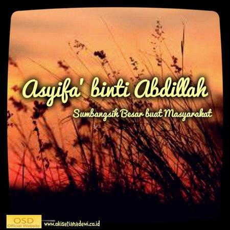 Asyifa binti Abdillah