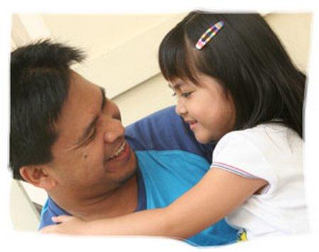 ayah dan putri