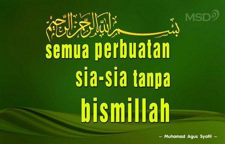 Bismillah 1
