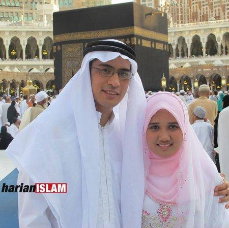 Pasangan suami istri di kabbah