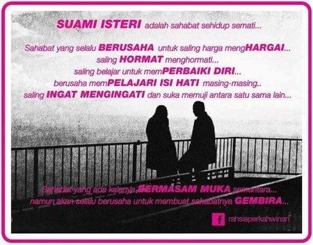 Suami istri adalah sahabat
