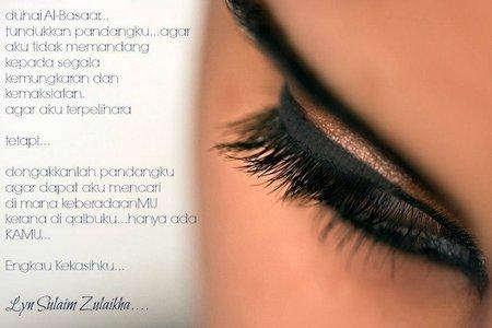 Tundukan pandangan mata