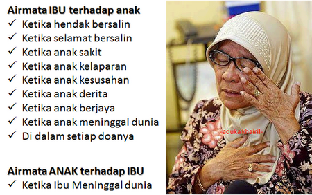 Tetesan Air Mata Ibu Oleh Ustadz Ferry Nasution Blognyafitri Part Ii