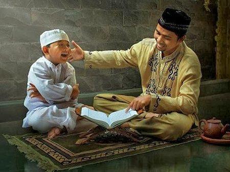 Anak Mengaji Al Quran -