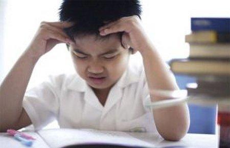 Anak stres belajar