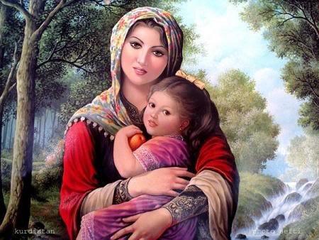 ibu gendong anank
