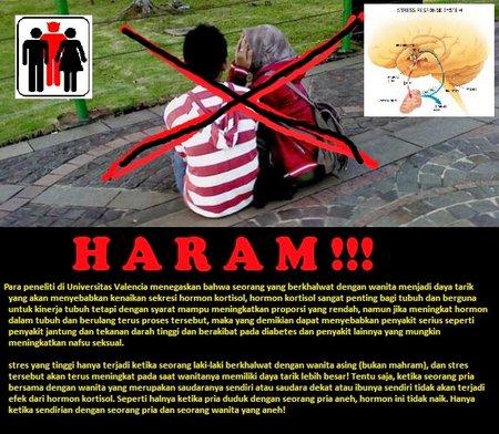 Kholawat Haram dan Bahaya Berdua-duaan Secara Ilmiah - Agusmedia