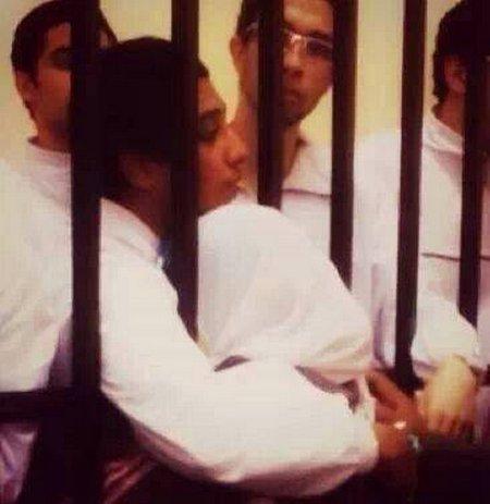 Pelukan di penjara