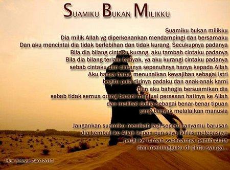 SUAMIKU BUKAN MILIKKU By:irfan Hidayat