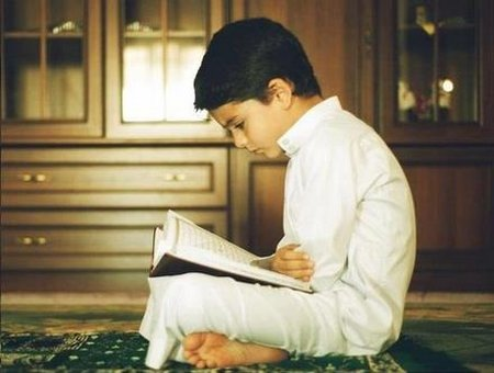 Anak baca quran