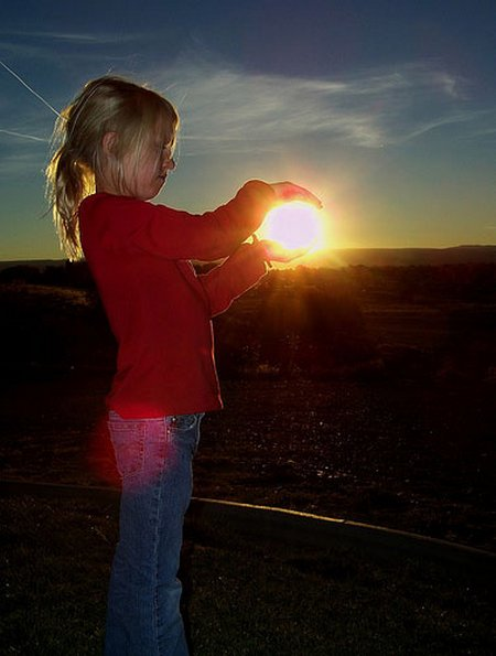 Anak cewe matahari