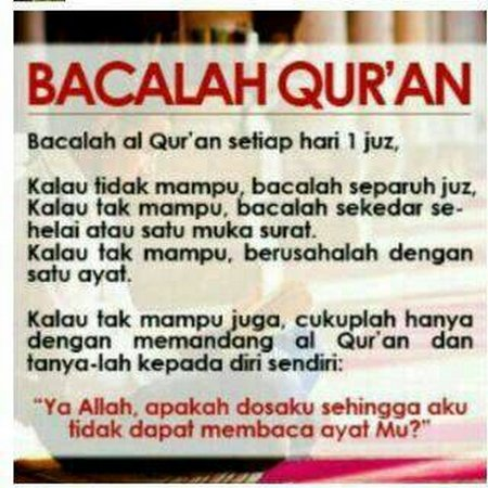 Baca quran one day one jus