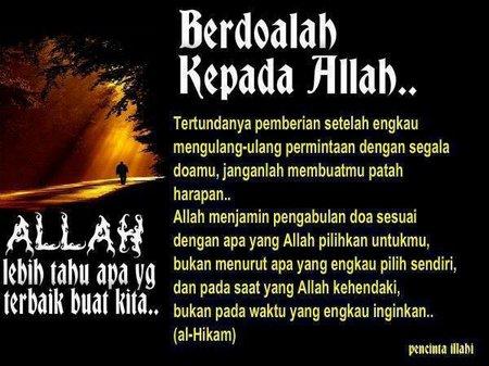 Berdoa pada allah 1