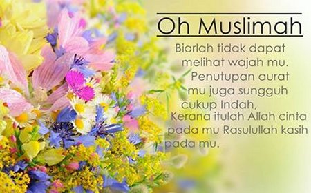 Cadar oh muslimah