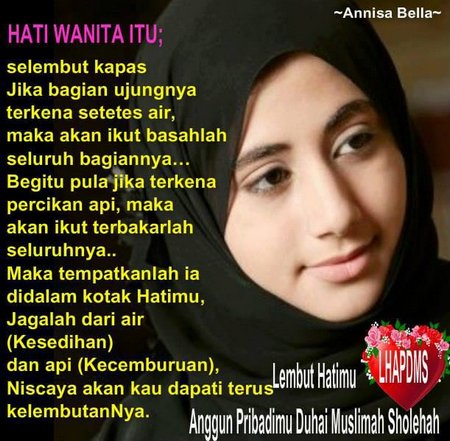 Hati muslimah