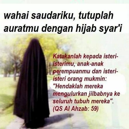 Hijab syar'i dan kata 2