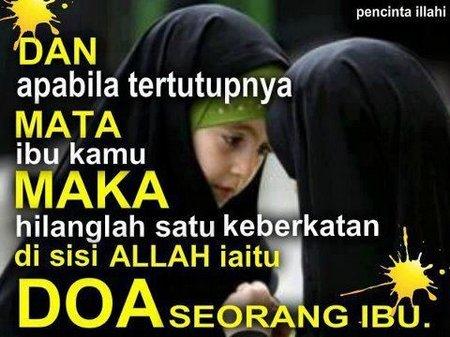 Ibu dan doa