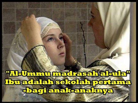 Ibu Madrasah anak
