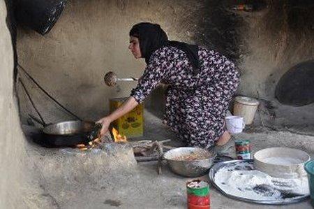 ibu masak