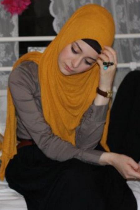 Jilbab nunduk