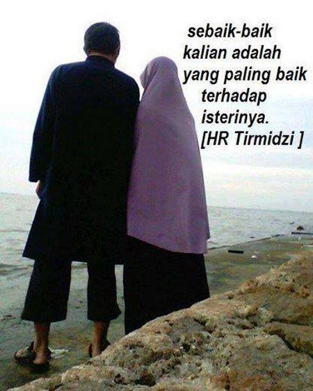Lelaki paling baik ama istri