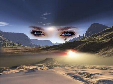 Mata dan gurun