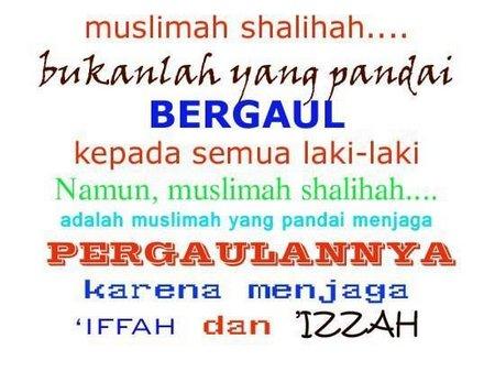 Muslimah bergaul
