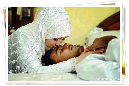 Pengantin romantis