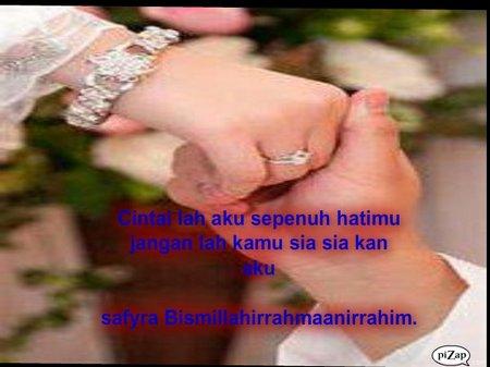 Tangan pengantin indonesia