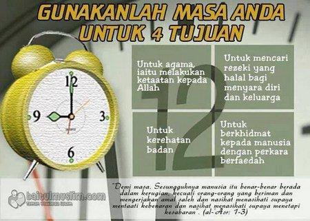 Waktu untuk 4 tujuan