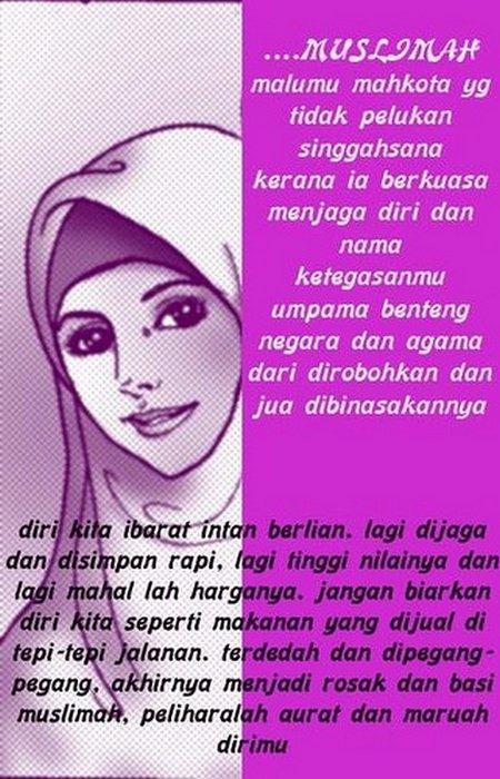 Wanita jaga marwahmu