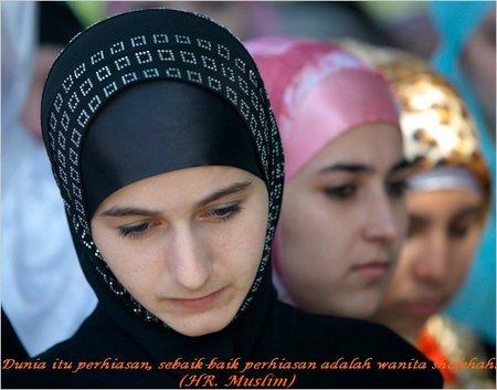 Wanita sholehah 1