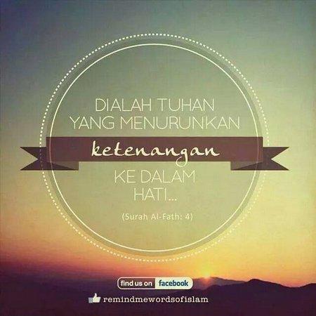 Allah ketenangan dalam hati