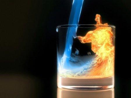 Gelas air