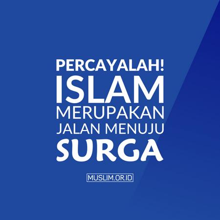 Islam menuju syurga