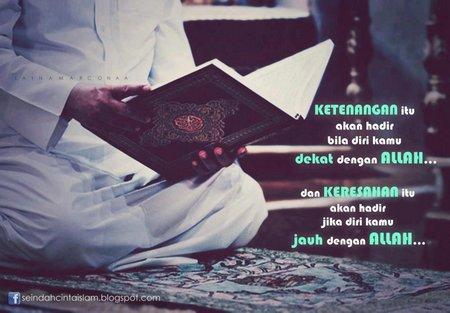 Ketenangan Quran