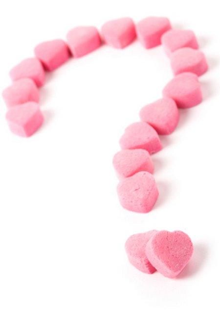 Love tanda tanya pink